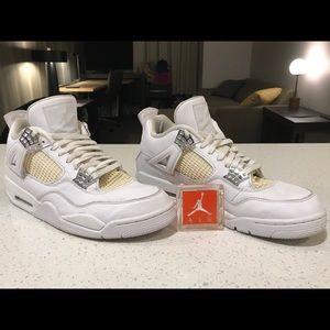 Air Jordan 4 Retro Pure Money 2017 *308497-100*